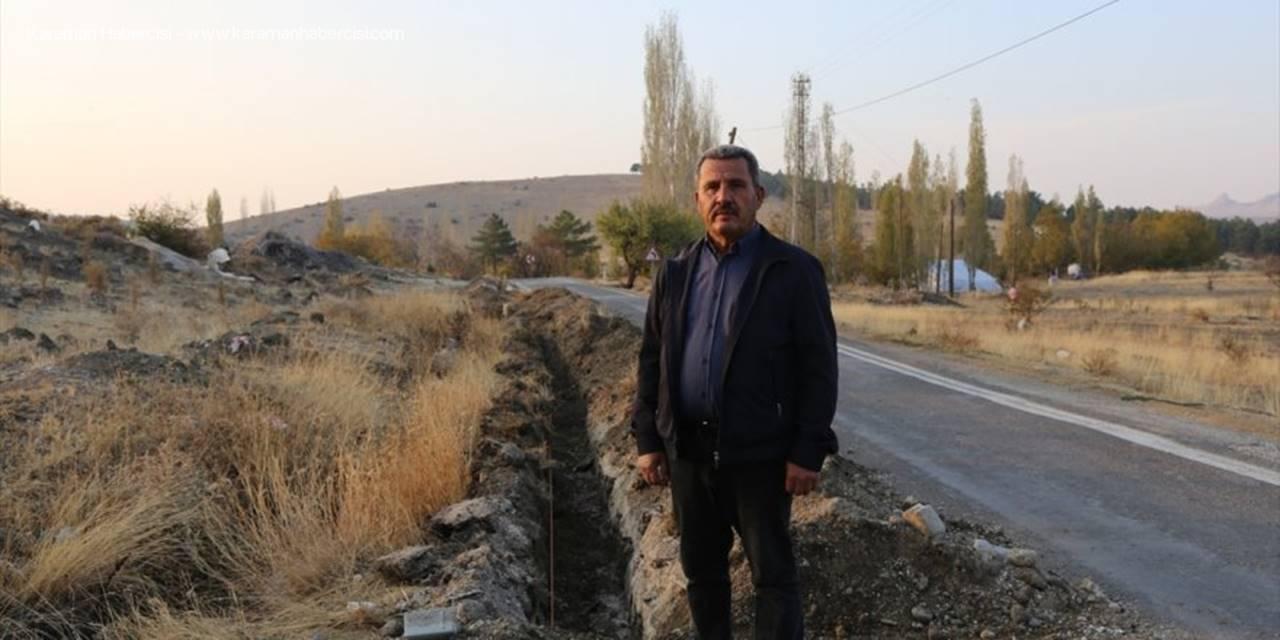 Halkapınar'da Fiber İnternet Altyapı Çalışmaları