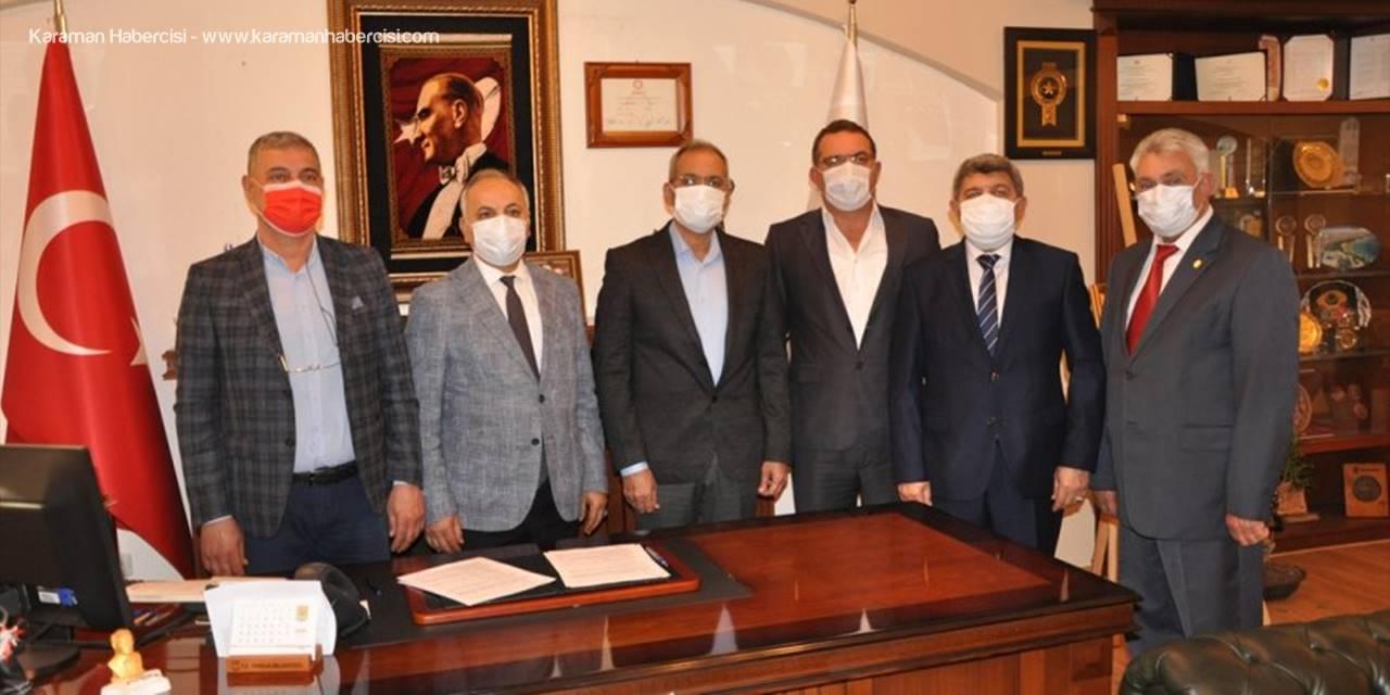 Tarsus Belediyesi İle Mersin Esob İşbirliği Protokolü İmzaladı