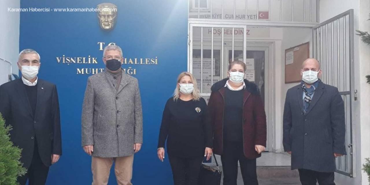 Ak Parti Odunpazarı İlçe Başkanı Acar'dan Odunpazarı Belediyesinin Belirlediği Alkollü Yerlere İlişkin Ziyaret