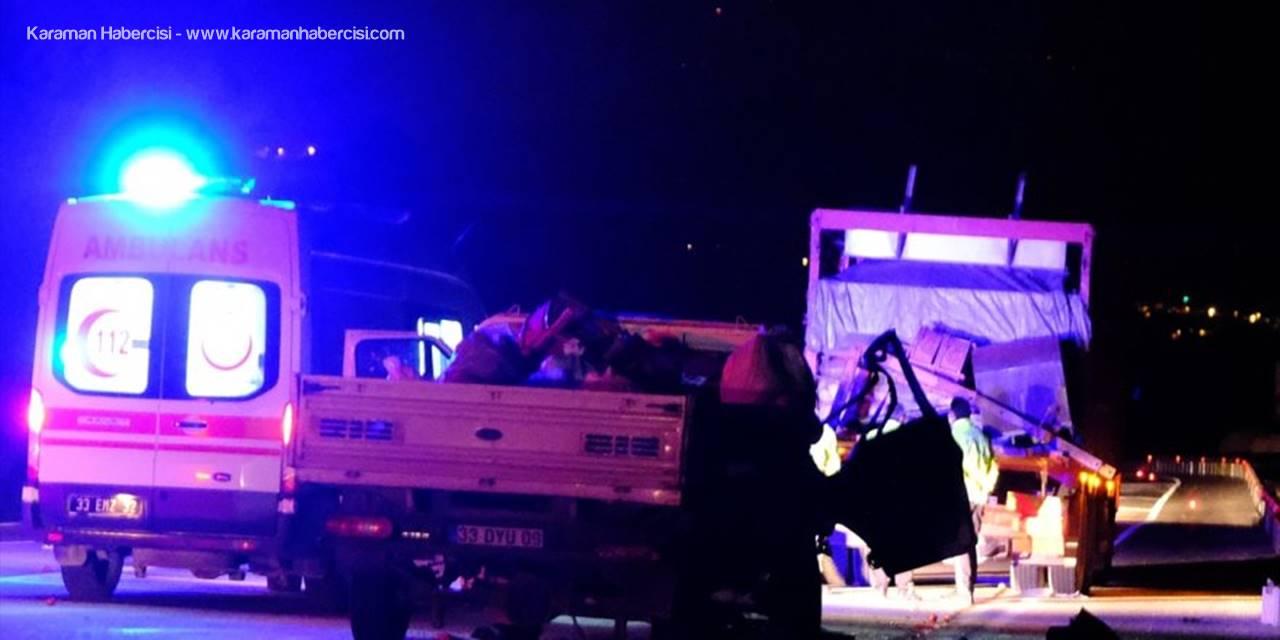 Mut'ta Feci Kaza: 2 Ölü, 2 Yaralı