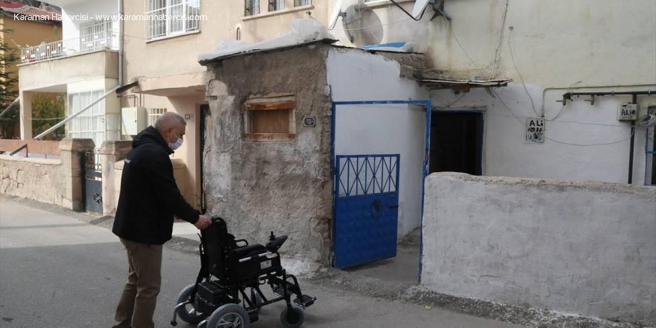 Niğde Belediye Başkanı Özdemir'den Kas Hastası Çocuğa Akülü Araç