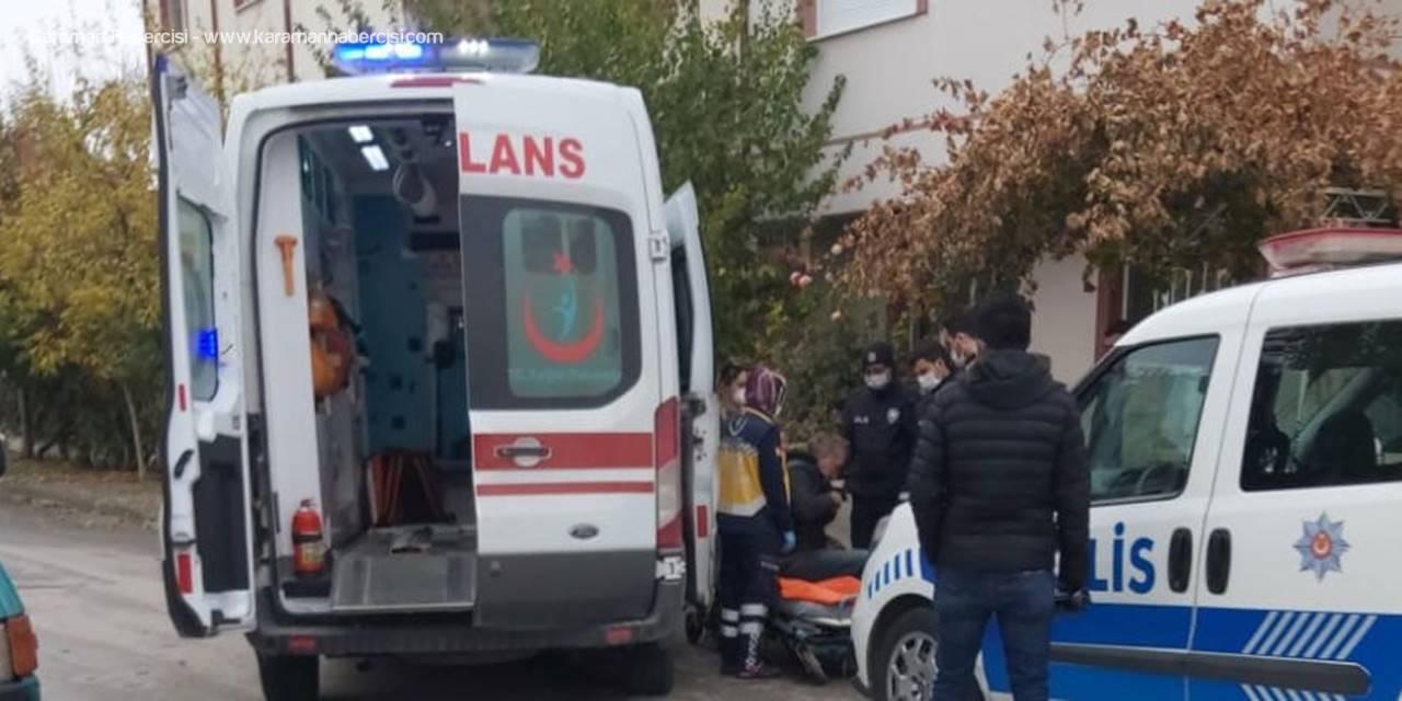 Karaman'da Şişede Durmayan Alkol Vatandaşı Kümese Soktu