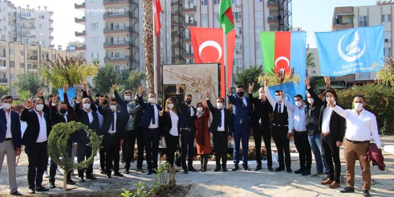 """Mersin'de """"'Azerbaycan Parkı"""" Törenle Açıldı"""