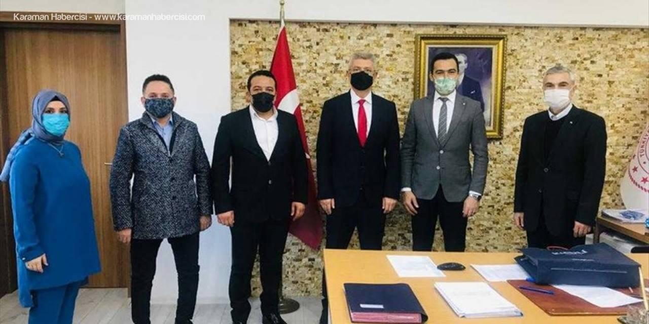 Ak Parti Odunpazarı İlçe Başkanı Acar'dan, 24 Kasım Öğretmenler Günü Ziyaretleri