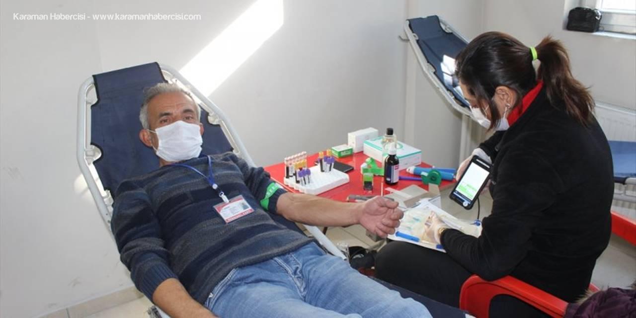 Karapınar'da Minik Uygar İçin Kök Hücre Bağışı Kampanyası