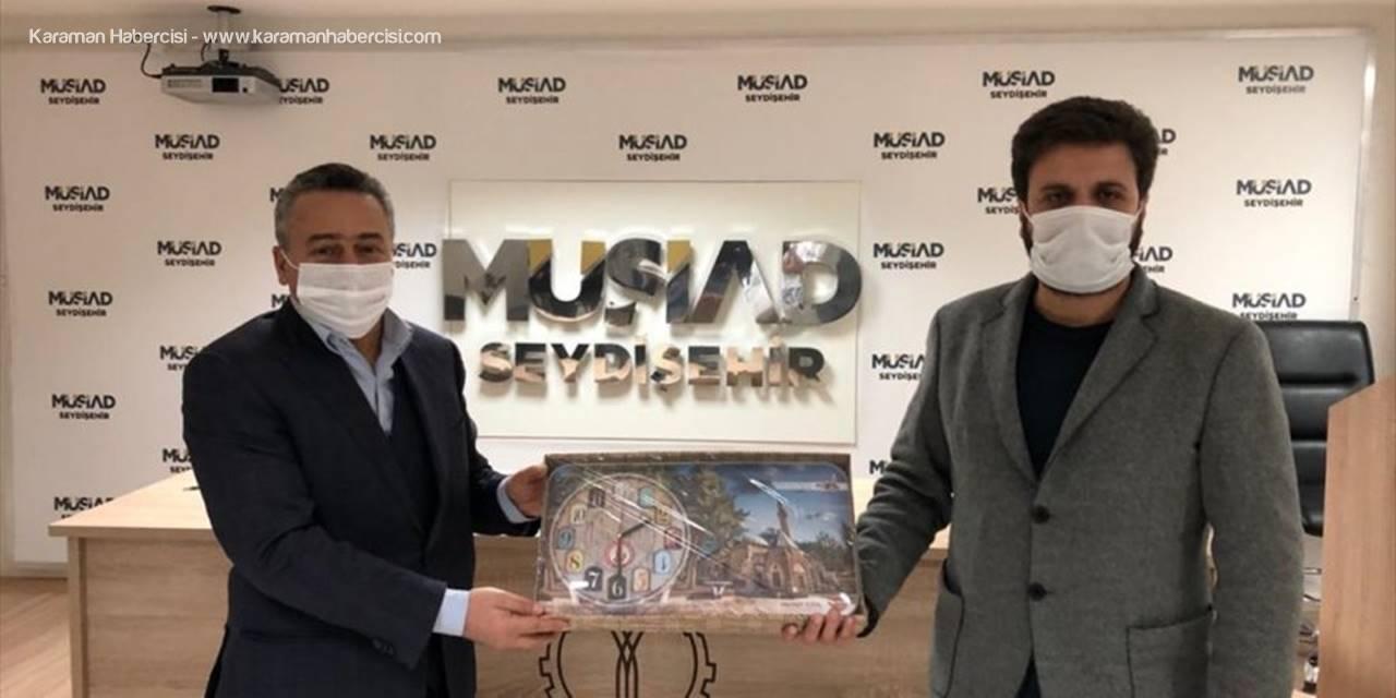 Seydişehir Belediye Başkanı Tutal'dan, Müsiad'a Ziyaret