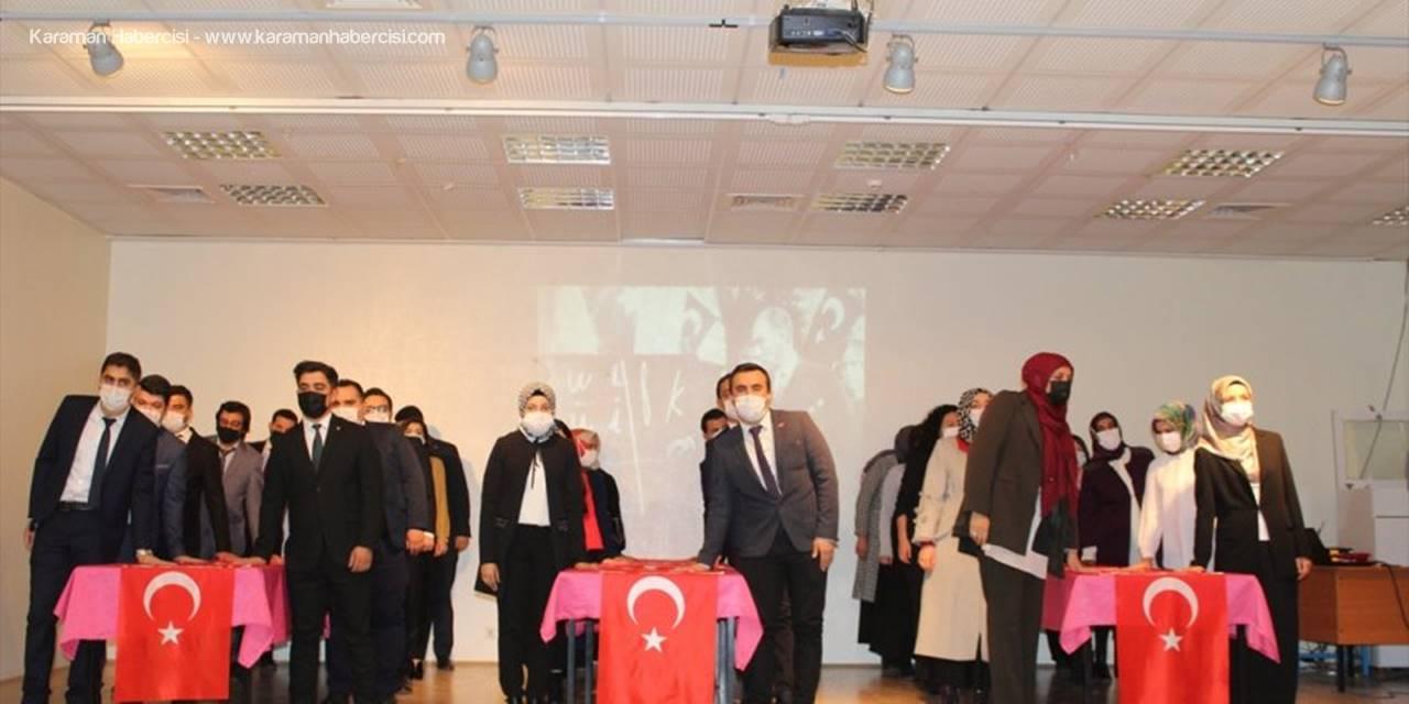 Yunak'ta 24 Kasım Öğretmenler Günü Kutlandı