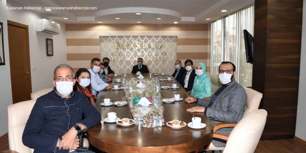 Antalya Valisi Ersin Yazıcı, İş İnsanlarıyla Bir Araya Geldi