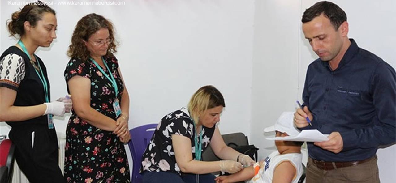 Karaman'da Öğrenciler Obezite Kontrolünden Geçti