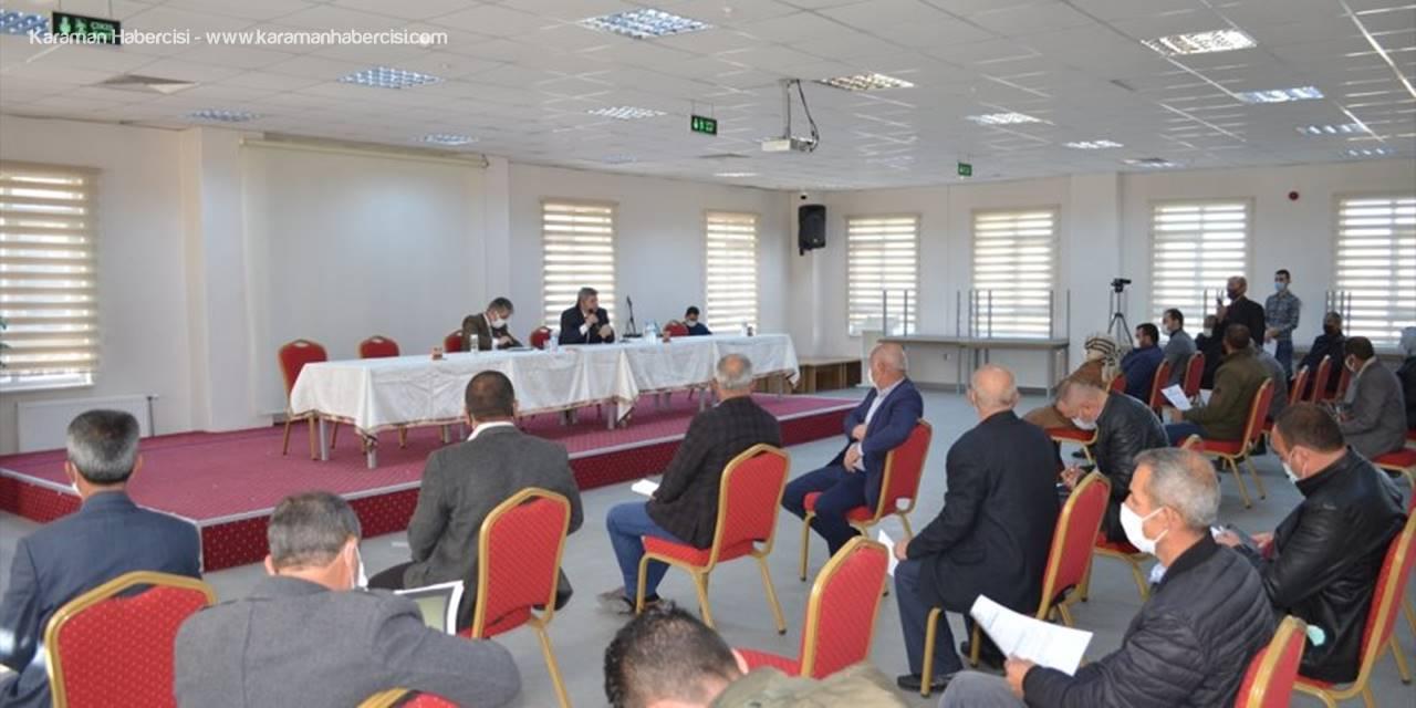 Bünyan'da Yatırım Toplantısı Yapıldı