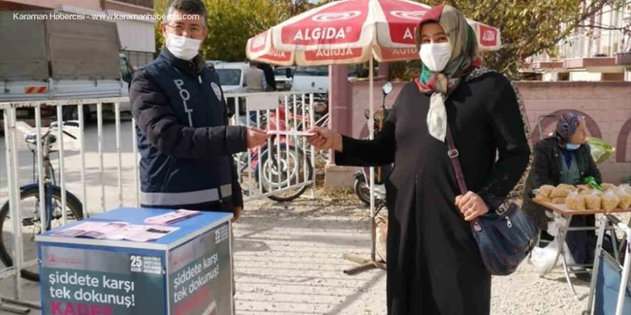 Antalya'da Kadına Yönelik Şiddete Dikkat Çekildi