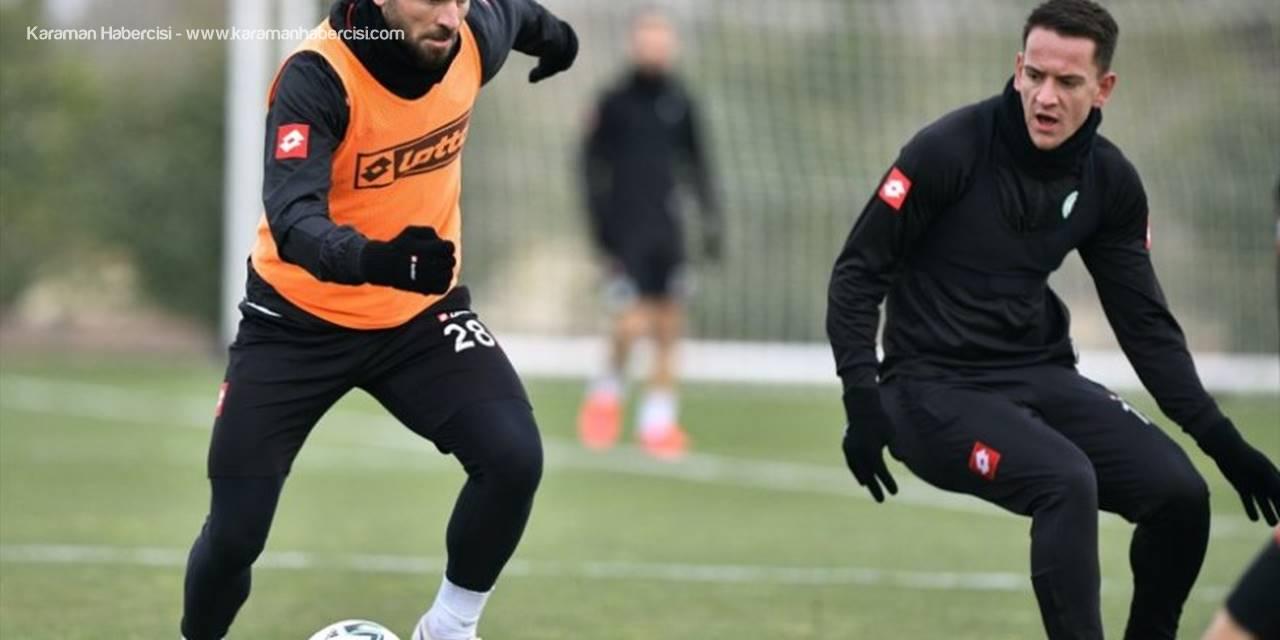 Konyaspor Kupa Mesaisini Tamamladı