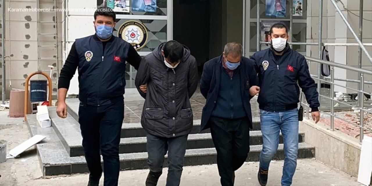 Mersin'de Bantla Kapladıkları Çakmağı Külçe Altın Diye Satan 2 Şüpheli Yakalandı