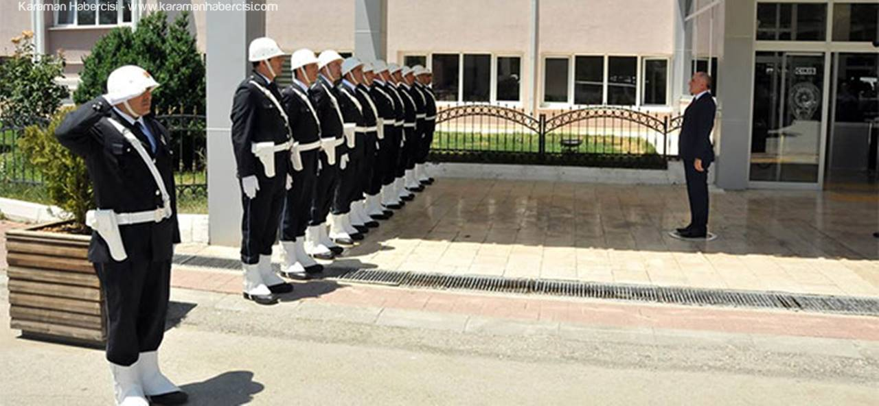 Vali Meral, Emniyet ve Jandarma Personelini Ziyaret Etti