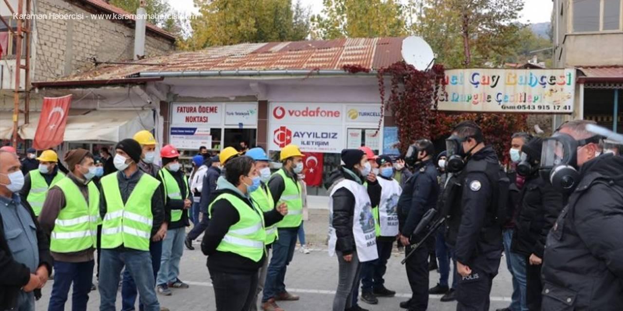 Karaman'ın Ermenek İlçesindeki Arbede Konusunda Resmi Açıklama Yapıldı