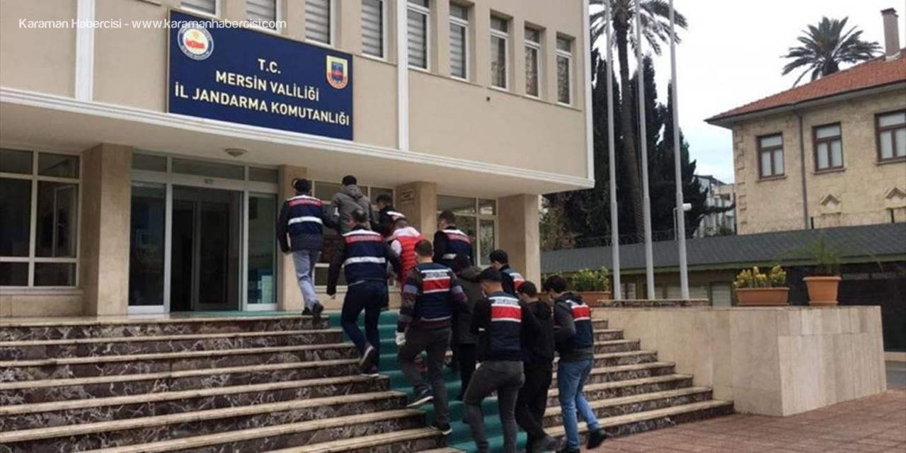 Mersin'de Terör Örgütü Pkk/kck'ya Yönelik Operasyonda 4 Zanlı Yakalandı