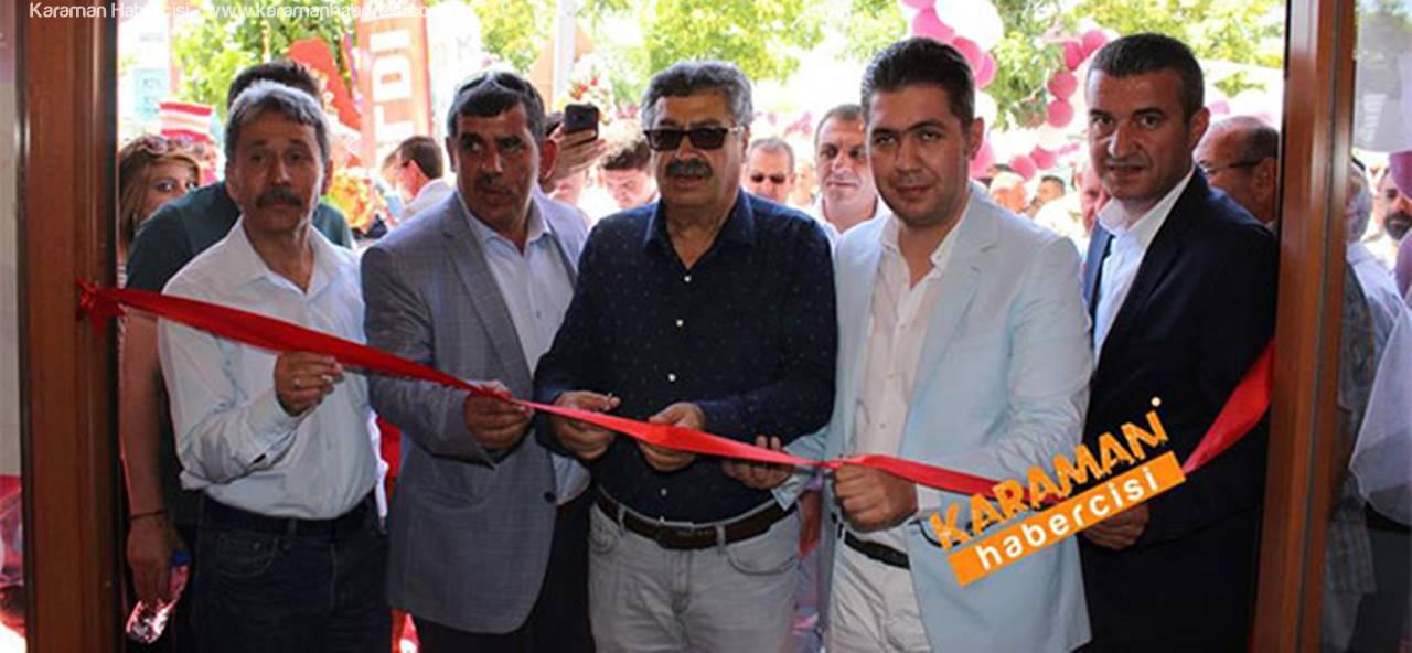 ERGÜL Mobilya'nın Karaman'daki Yeni Bayisi Törenle Açıldı