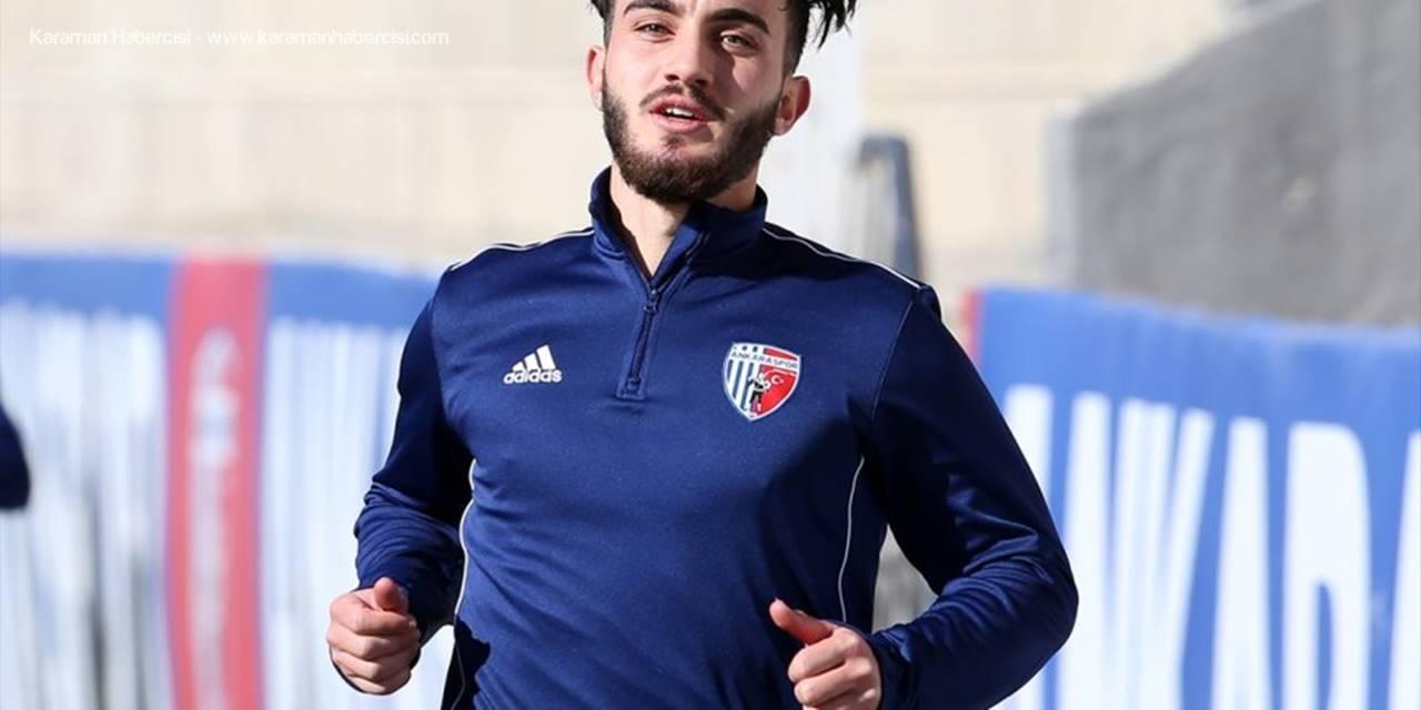 """Ankaraspor'un Genç Oyuncusu Halil İbrahim Esen: """"Kaybetme Korkusunu Yenmek İstiyoruz"""""""