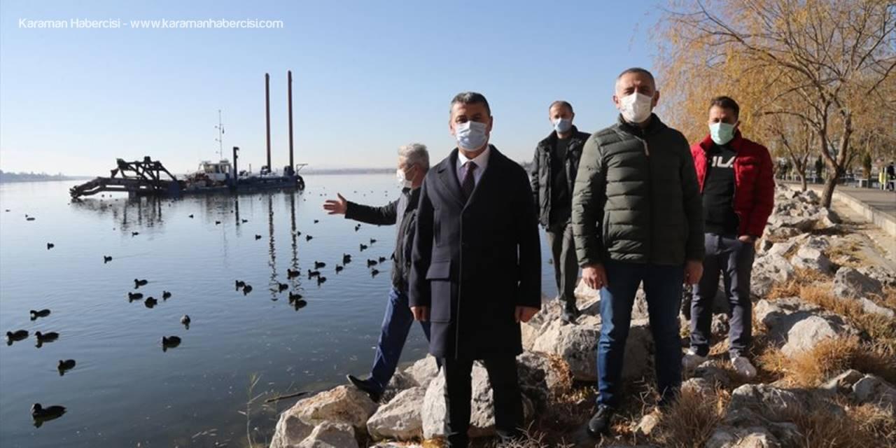 Belediye Başkanı Şimşek, Göl-der Başkanı Demirci İle Bir Araya Geldi