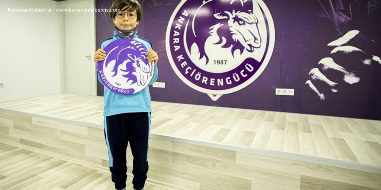 Minik Taraftardan Ankara Keçiörengücü'ne Anlamlı Tablo