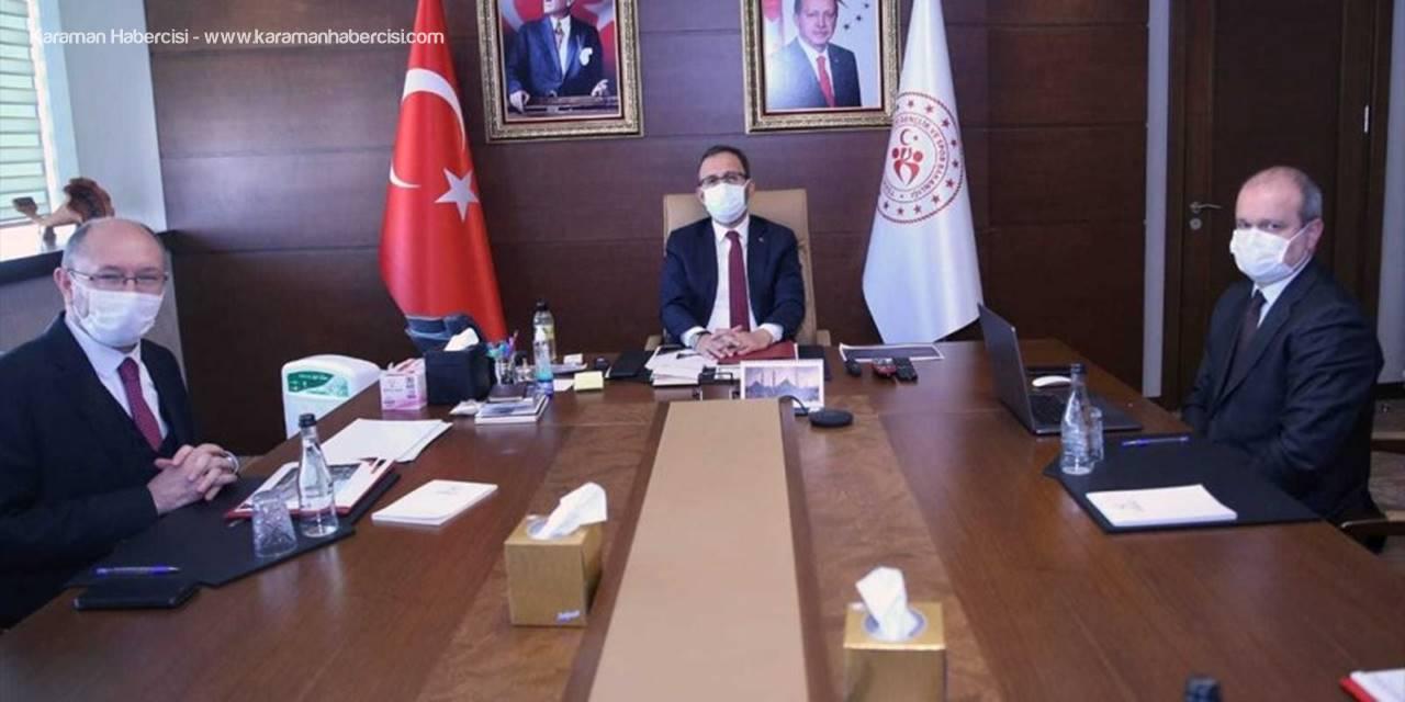 AÜ Rektörü Erdal, Gençlik Ve Spor Bakanı Kasapoğlu'nu Ziyaret Etti