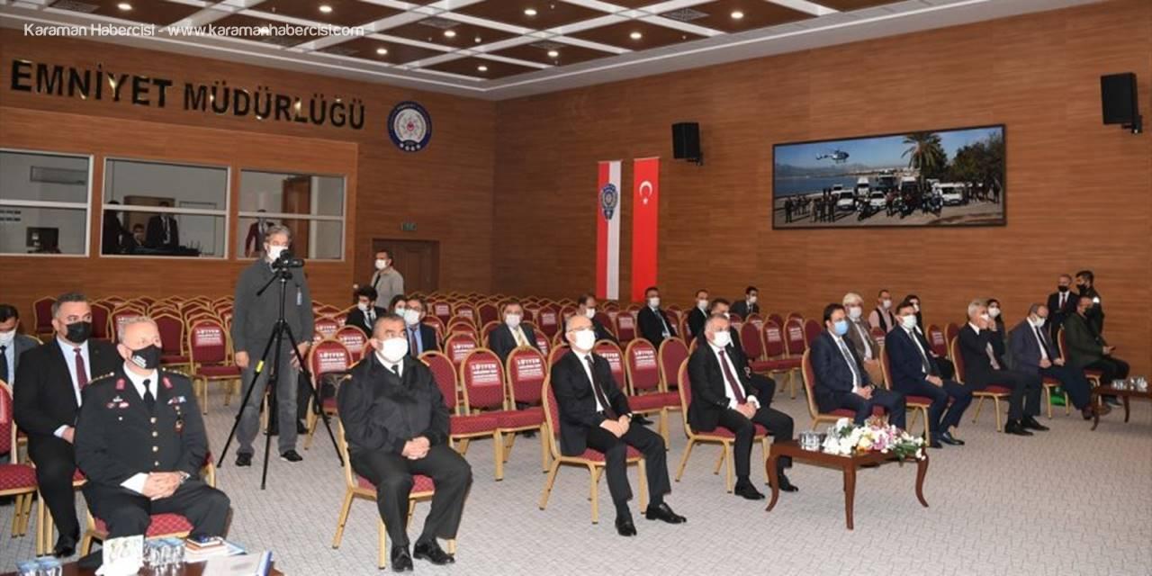 Antalya'da Uyuşturucu İle Mücadelede Risk Durumu Değerlendirme Toplantısı Yapıldı