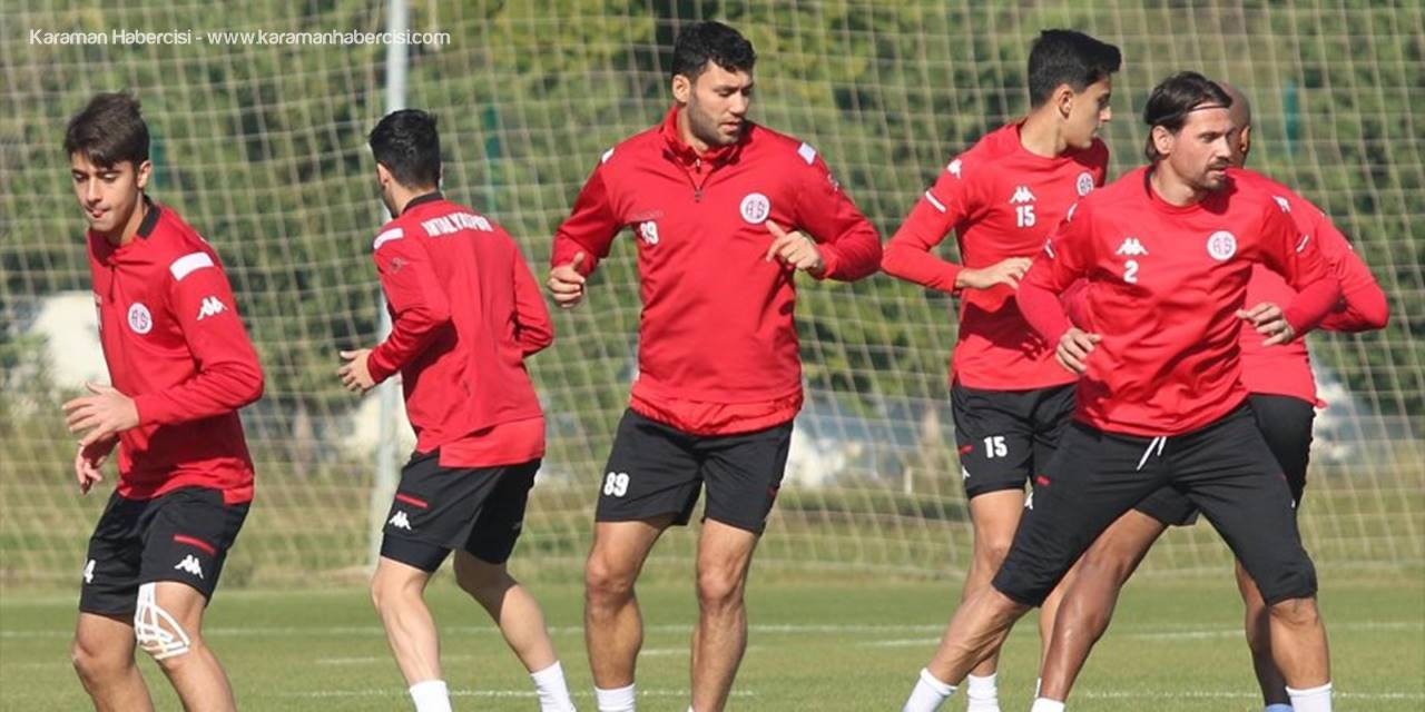 Antalyaspor, Büyükşehir Belediye Erzurumspor Maçına Hazır