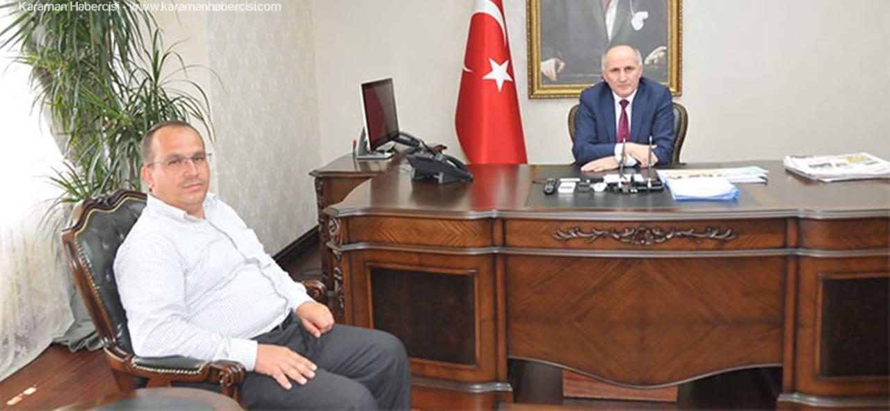 İstanbul'dan Karaman'a Hayırlı Olsun Ziyareti