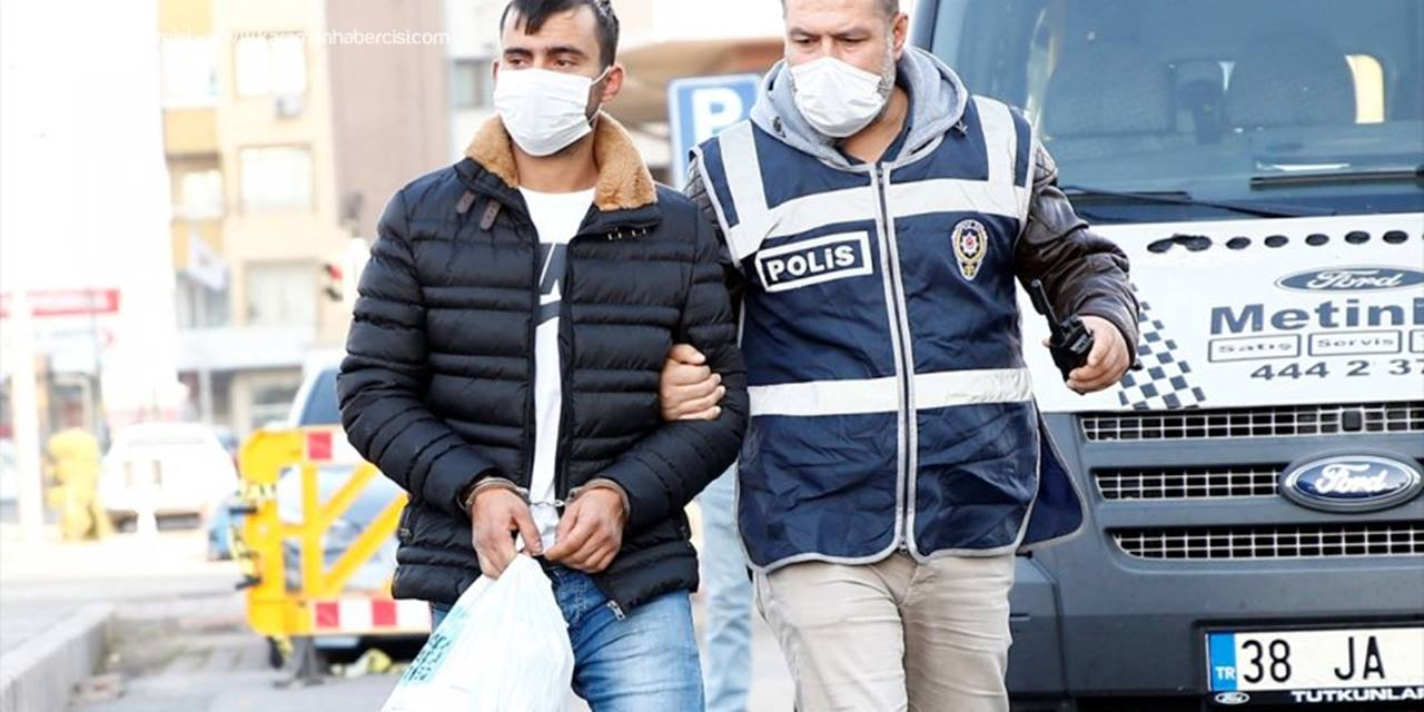 Kayseri'de 20 Yıl Kesinleşmiş Hapis Cezası Bulunan Hükümlü Evinde Yakalandı