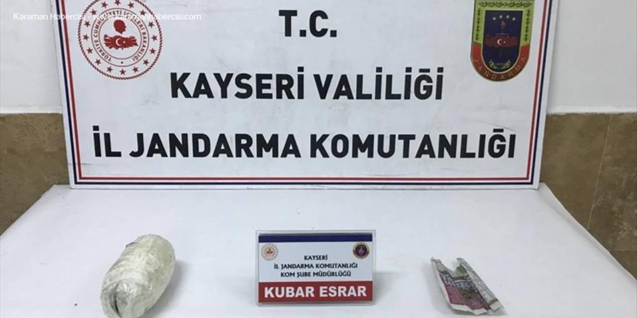 Kayseri'de Yolcu Otobüsünde Uyuşturucu Ele Geçirildi