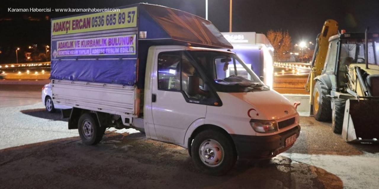 Kayseri'de Ehliyetsiz Sürücü Sokağa Çıkma Kısıtlaması Denetimine Takıldı