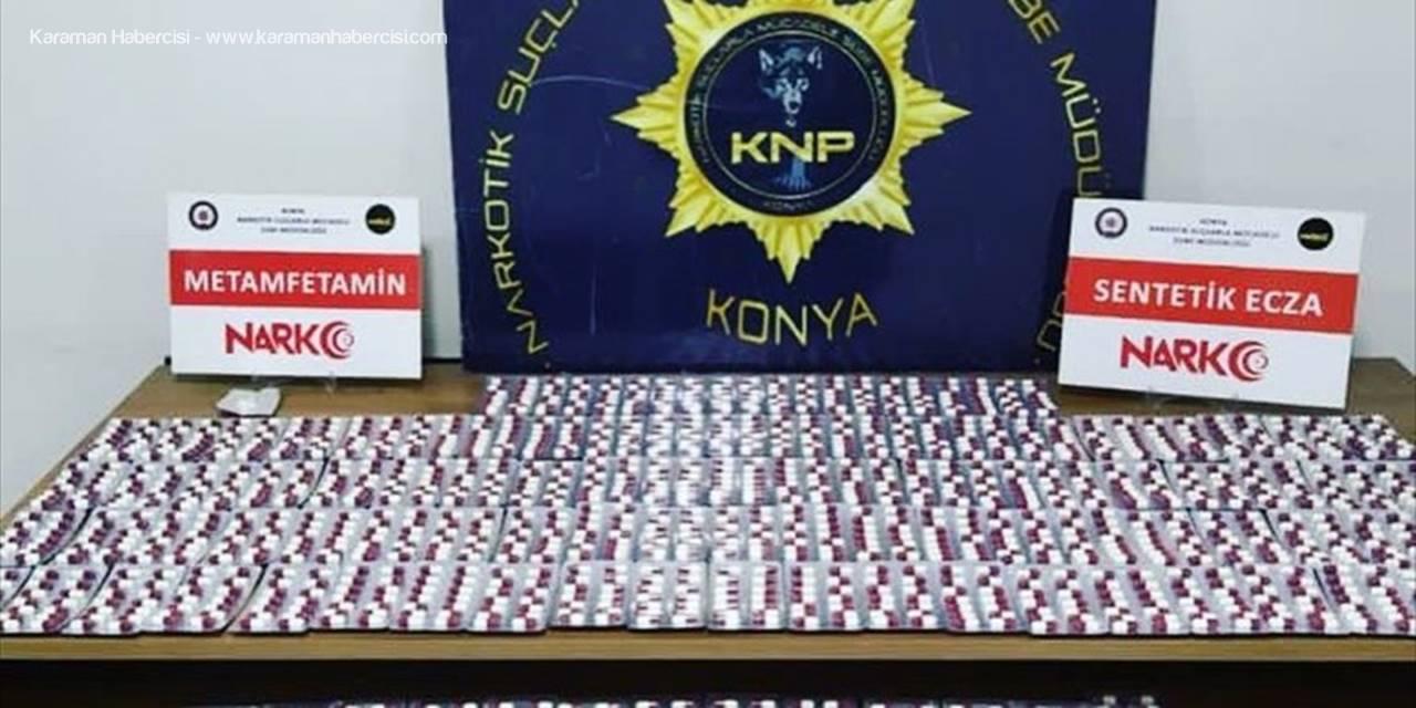 Konya'da Uyuşturucu Operasyonunda 11 Zanlı Yakalandı
