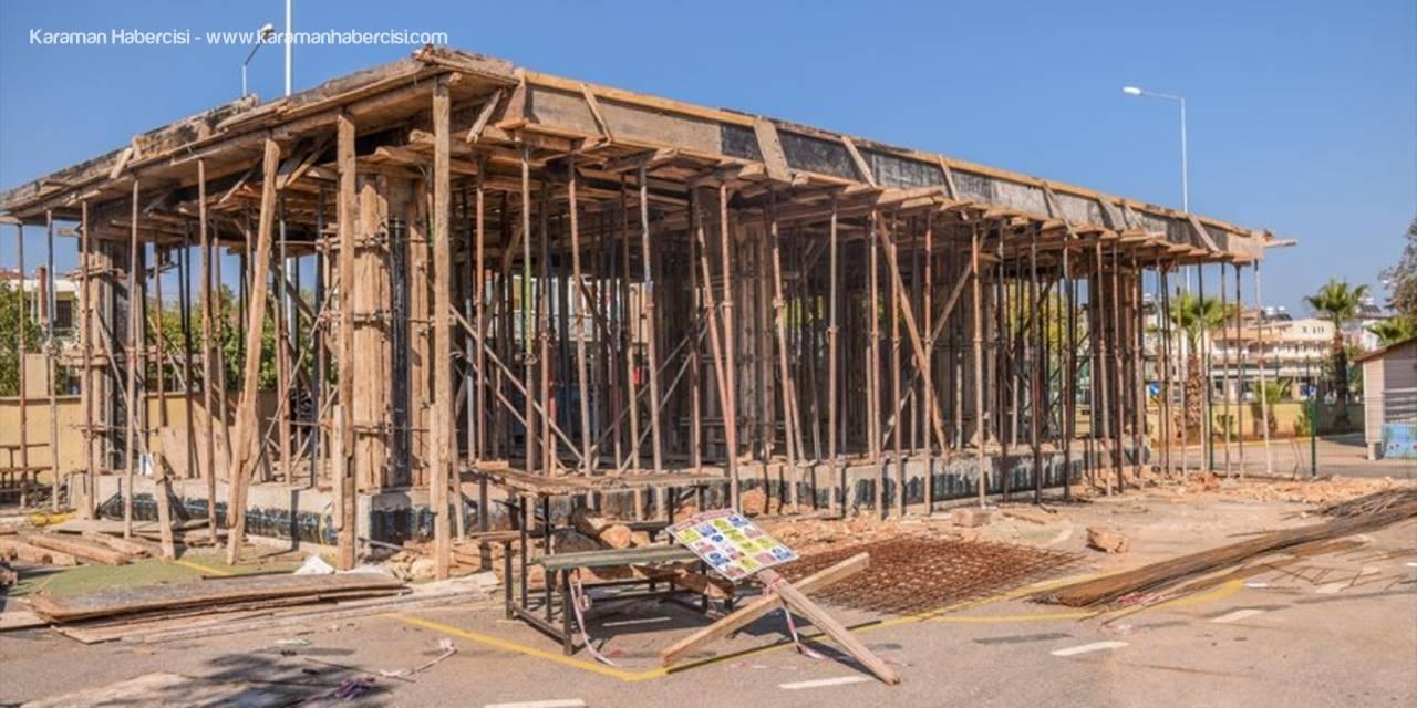 Kepez'deki İki Okula Çok Amaçlı Etkinlik Salonu İnşa Ediliyor