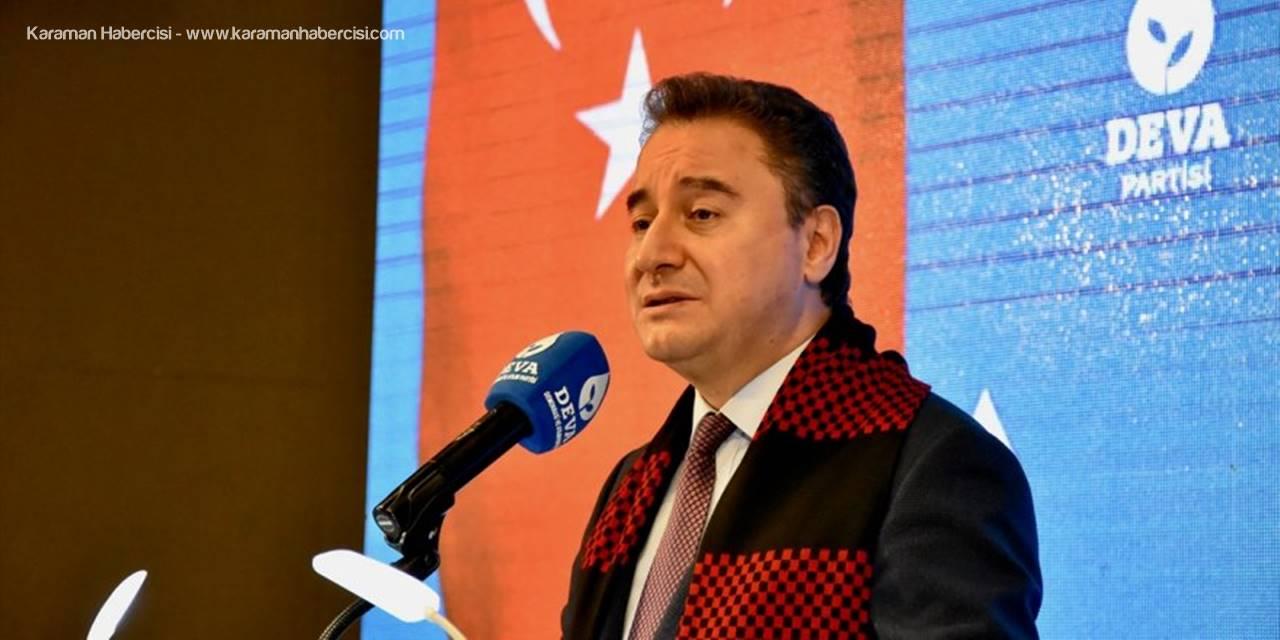 Deva Partisi Genel Başkanı Ali Babacan Partisinin Eskişehir İl Kongresi'ne Katıldı