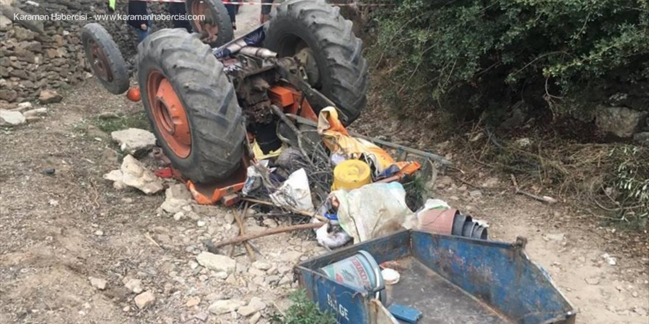 Muğla'da Devrilen Traktörün Altında Kalan Çift Öldü