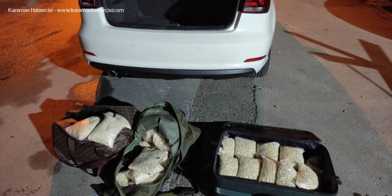 """Mersin'de Uyuşturucu Sevkiyatı Yapan Zanlılara """"Drone"""" Destekli Operasyon: 3 Gözaltı"""