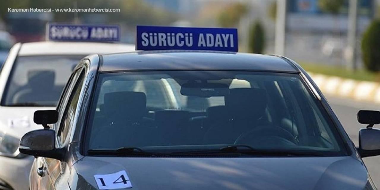 Karaman'da Sürücü Adayları İçin Hiç Kolay Bir Sınav Olmadı