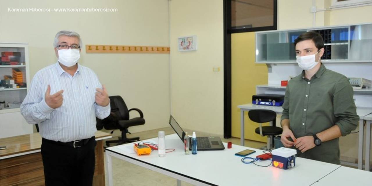 SÜ Öğrencisi, Astım Ve Koah Hastaları İçin Mobil Tabanlı Uyarıcı Cihaz Geliştirdi