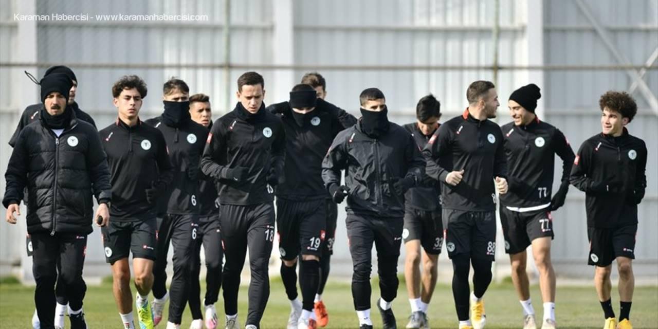 Konyaspor, Büyükşehir Belediye Erzurumspor Maçı Hazırlıklarına Başladı