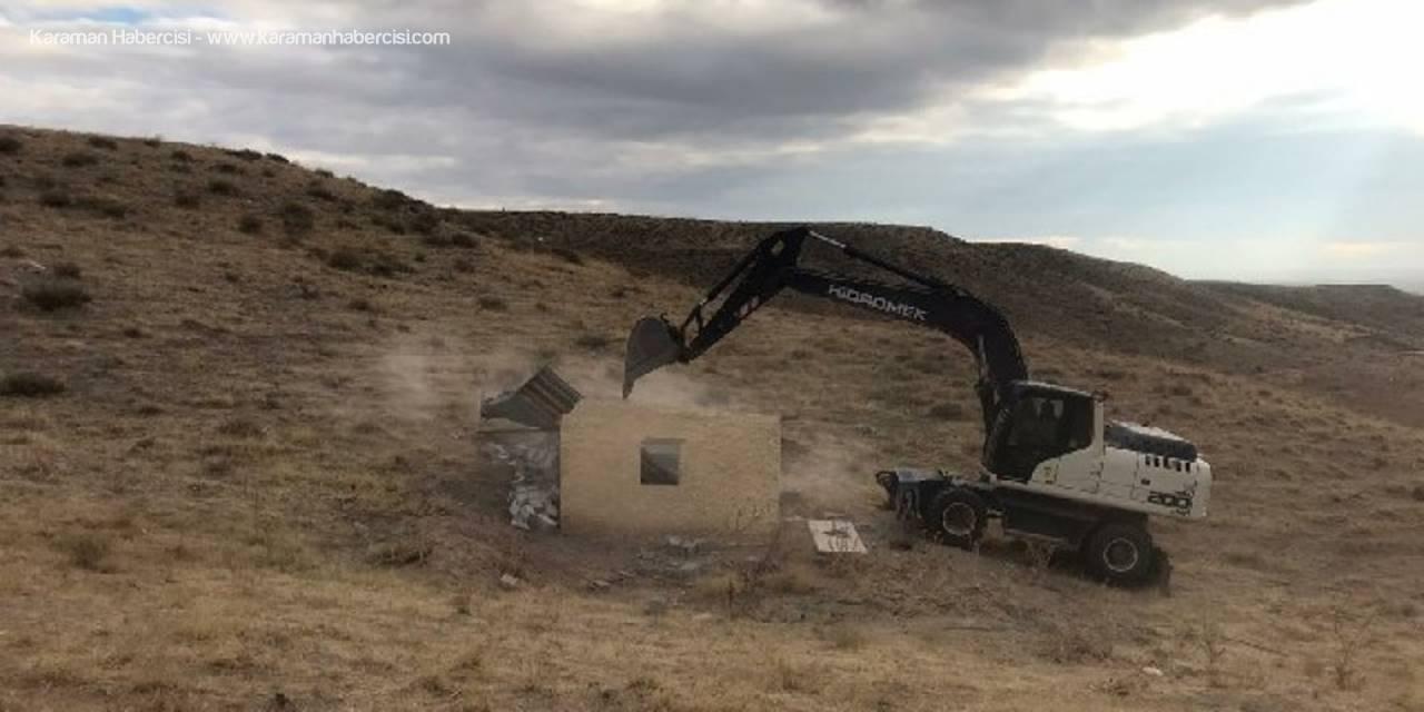 Aksaray Belediyesi'nden Kaçak Yapıya Geçit Yok