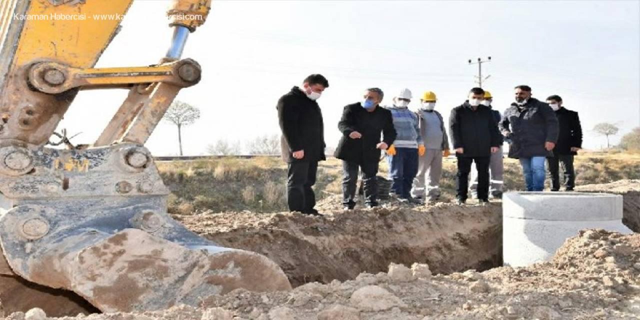 Aksaray Belediye Başkan Dinçer, Asfalt Çalışmalarını Yerinde İnceledi