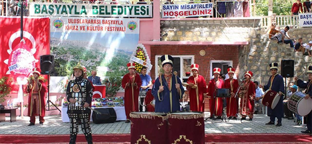 Başyayla'da Kiraz ve Kültür Festivali Düzenlendi