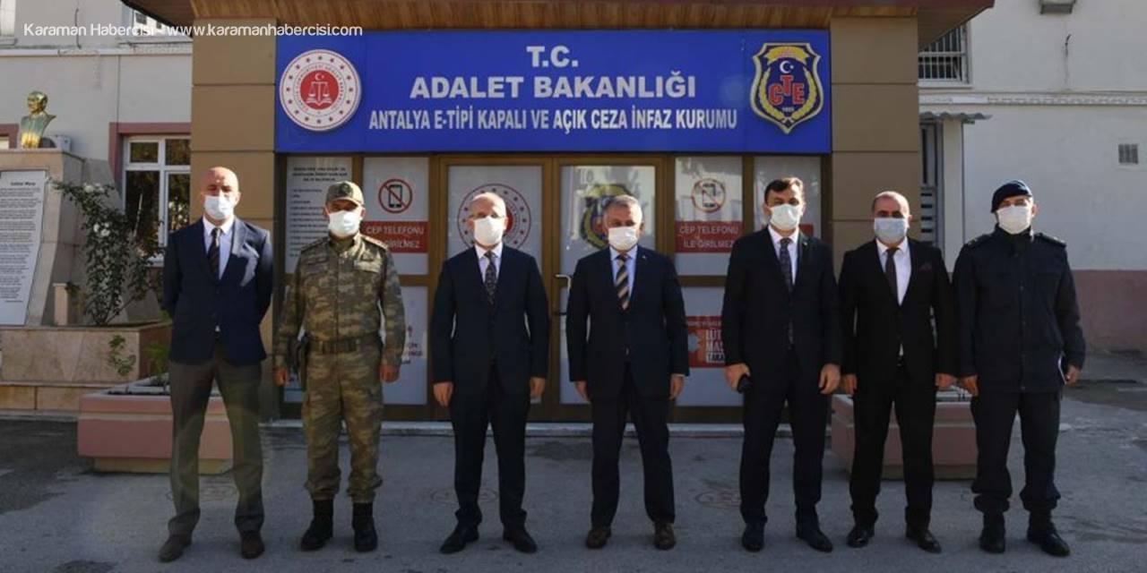 Antalya Ceza İnfaz Kurumu Koronavirüsü Dışarıda Mahkum Ediyor