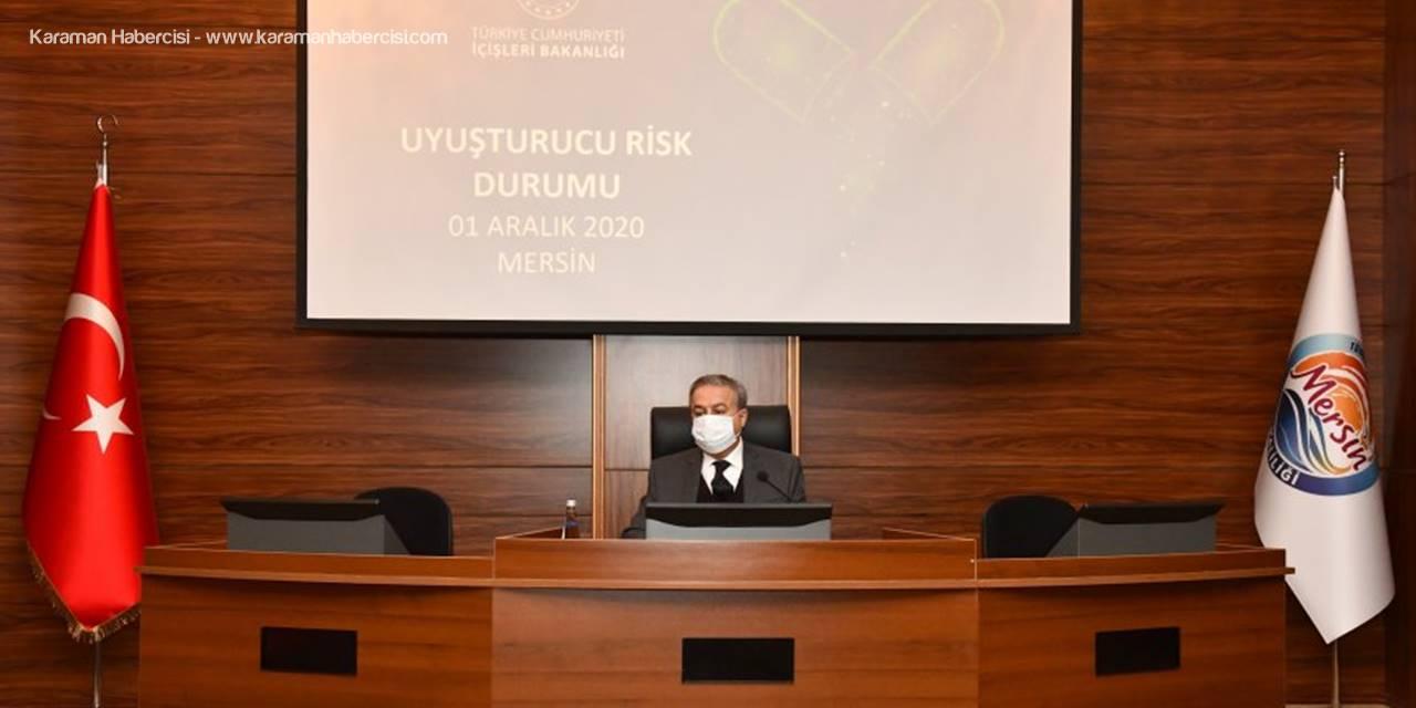 Uyuşturucu ile Mücadele ve Risk Analizi Değerlendirme Toplantısı' Vali Su Başkanlığında Yapıldı