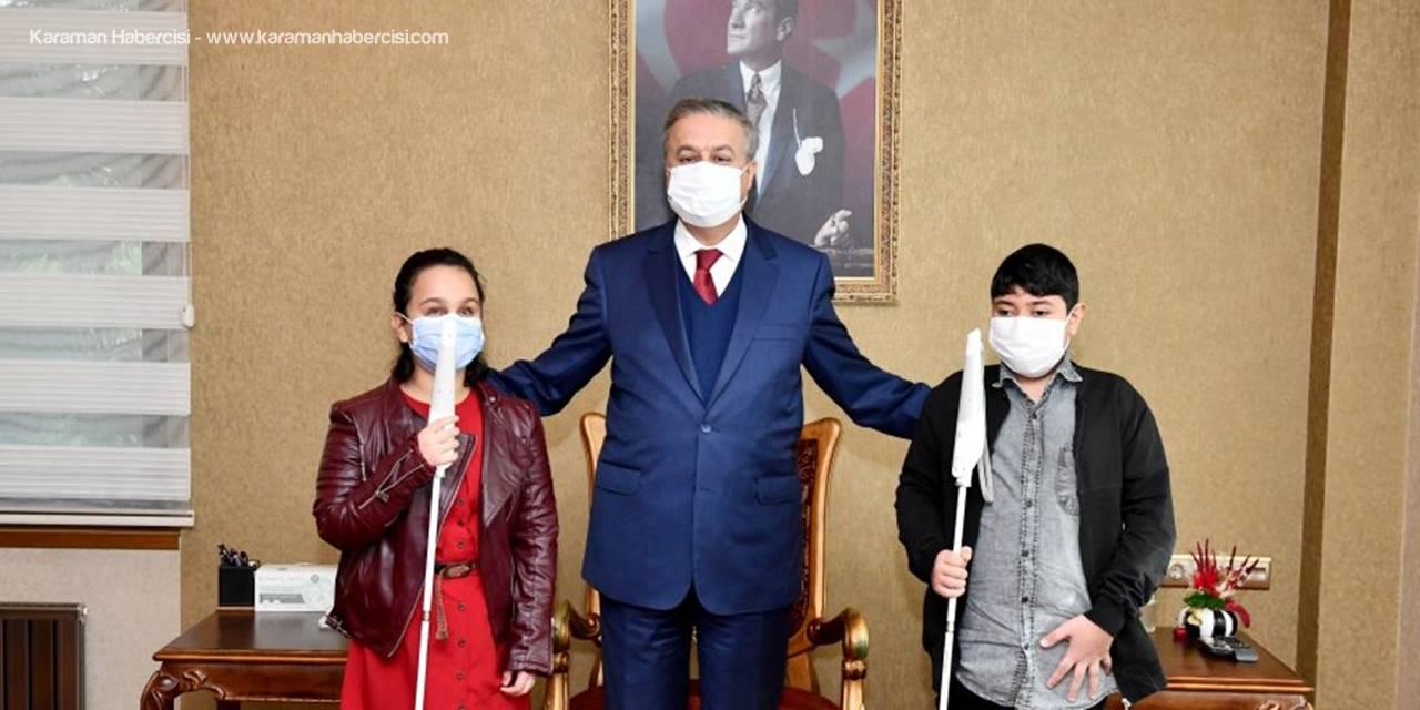 Mersin Valisi Su'ya 3 Aralık Dünya Engelliler Günü Ziyareti