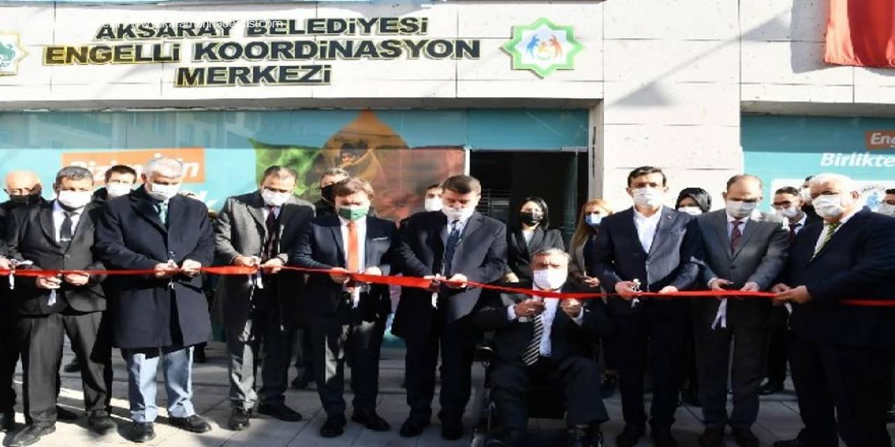 Aksaray'da 3 Aralık Dünya Engelliler Gününde Engelli Koordinasyon Merkezinin Açılışı Gerçekleşti