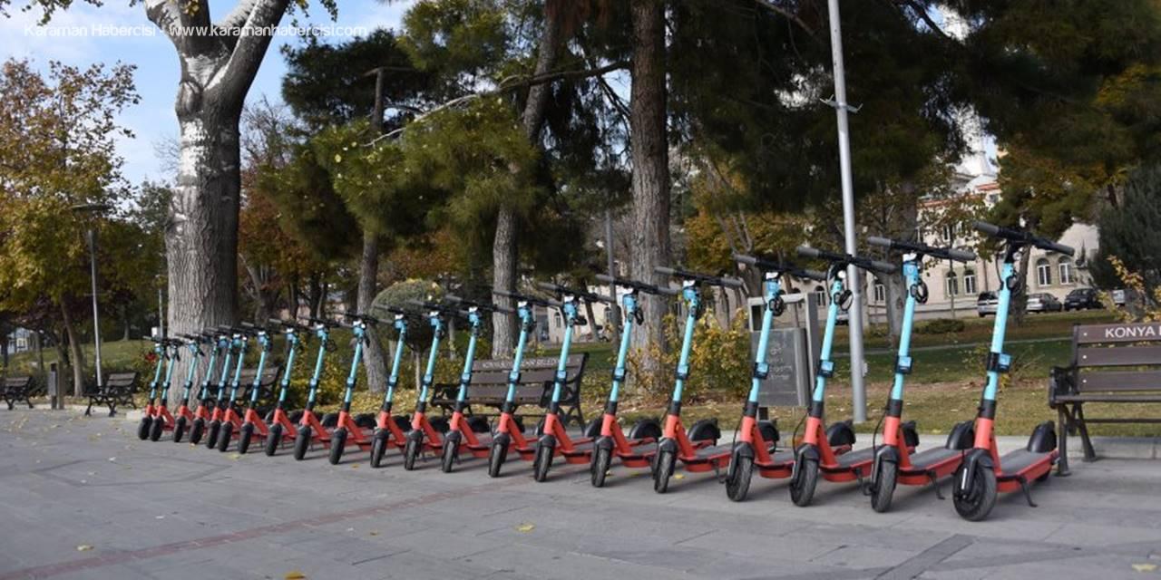 Konya'da Elektrikli Scooter Dönemi