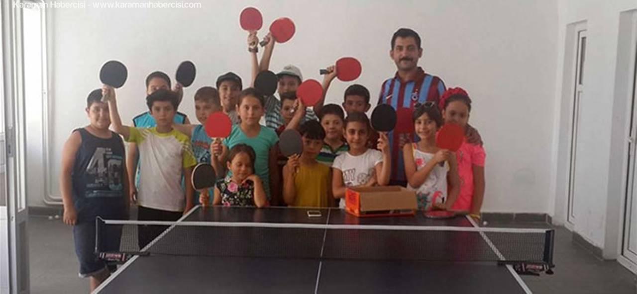 Ermenek'te Yaz Spor Okulları Devam Ediyor