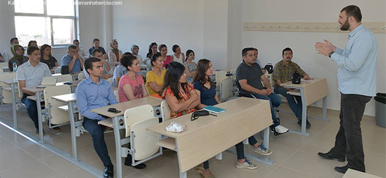 KMÜ Personeline İşaret Dili Eğitimi