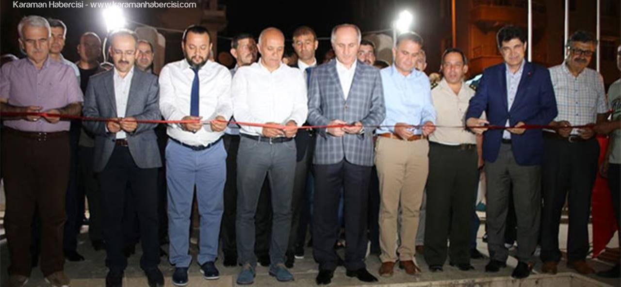 Karaman'da 15 Temmuz Sergisi Açıldı